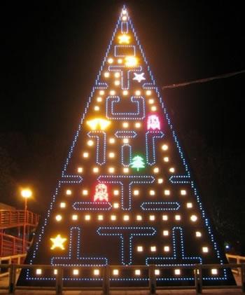 pacman-xmas-tree